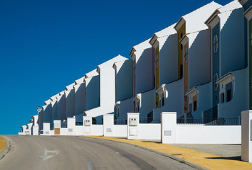 Foto op Plexiglas Stadion street in casares costa
