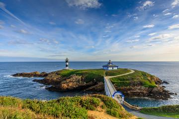 Foto auf AluDibond Leuchtturm Ribadeo lighthouse