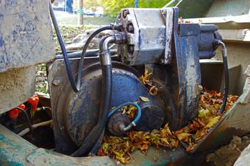 Reel motor tractor