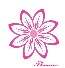 Logo flower icon