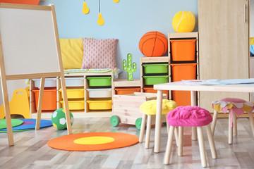 Beautiful interior of children room