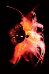 Carnival Mask Flaming