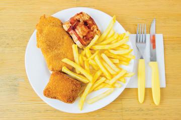 Deep fried fast food