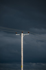 Storm Clouds and Powerlines