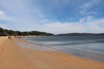 Pittwater Palm beach in the north of Sydney on the Tasman Sea, Australia