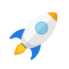 Rocket Flat SEO Optimisation Icon