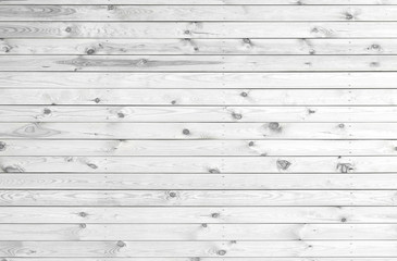 White texture of wooden planks