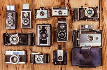 Collection of Vintage and Antique Cameras