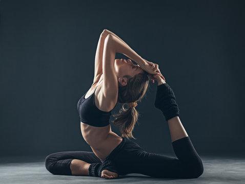 Pigeon Yoga Position