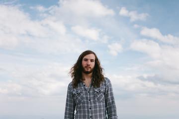Long hair boy