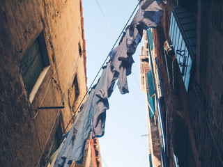 Clothesline in Venice