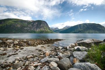 fjord landscape in Norway