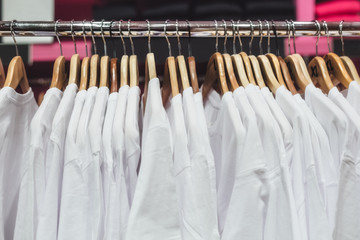 T-Shirts on a Rack
