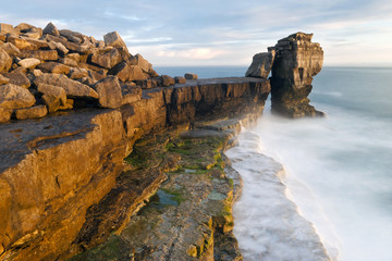 Pulpit Rock, Portland Bill, Isle of Portland, Dorset, England, United Kingdom, Europe