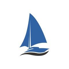 Ship boat logo
