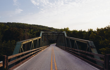 Bridge over Buffalo River in Jasper, AR