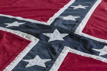Rebel flag of the Confederate States of America