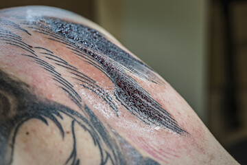 Tattoo Session: Blood Sweats