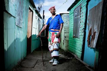 African Xhosa Township Man