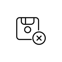 Premium save icon or logo in line style