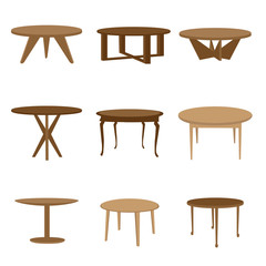 Set of table icons