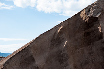 Stein und Sandstrukturen