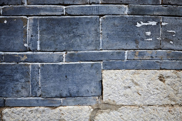 Old stone wall background or texture