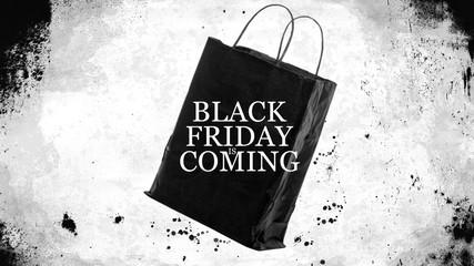 Black Friday Shopping Sales Bag - Black Friday is coming