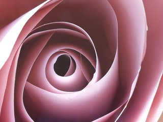 rose that is handmade by paper
