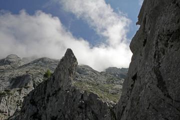 Aufsteg zur Eisriesenwelt Höhle nahe Werfen