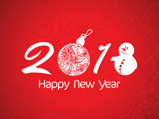 abstract artistic creative christmas new year text