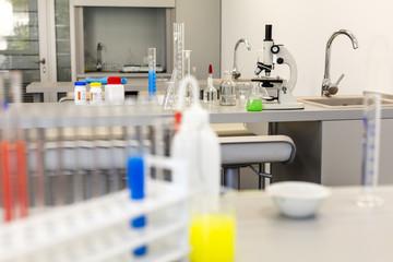 Modern chemistry lab.