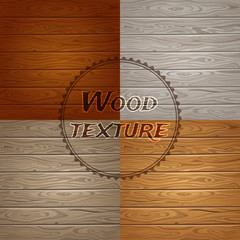 Wood texture background. 4 color.