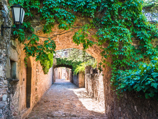Medieval streets of Mura