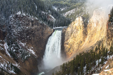 Grand Canyon of the Yellowstone Falls