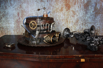 Steampunk Distilleria  fine 800