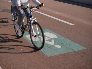 voie cyclable vélo