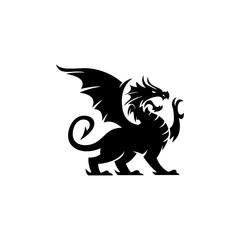 Dragon logo illustration