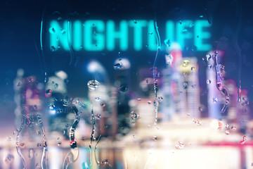 Nightlife concept
