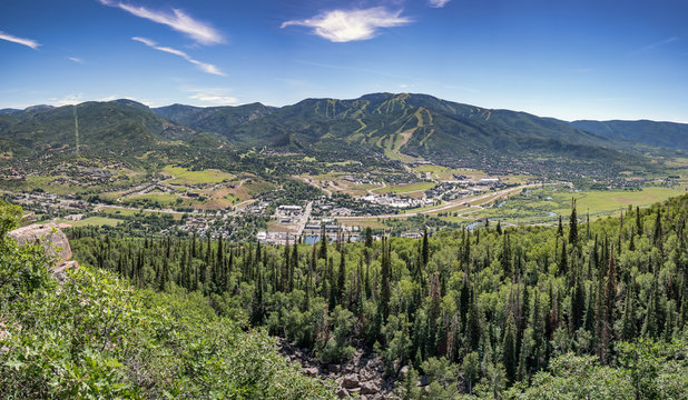 Steamboat Springs Panorama