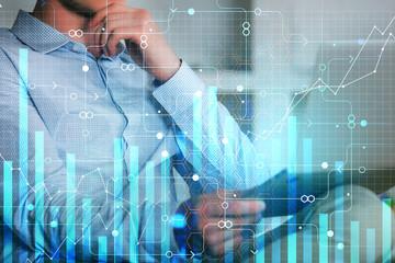 Economy, finance and future concept