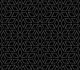 seamless geometric pattern made up of diamonds