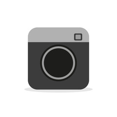 Camera - Vector icon camera, video and photo hipster camera