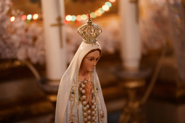 decoration Mother of God in the temple