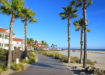 La Jolla California Beach Walkway