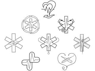symbol of a medical institution