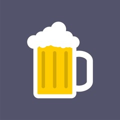 Beer icon, Beer vector icon