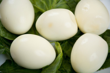 Pate of boiled eggs
