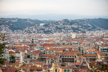 architecture of the French city of Nice