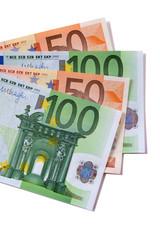 Euro currency bills